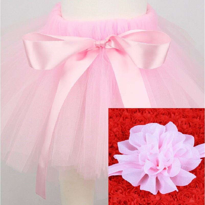 Baby Tutu Skirt and Headband Sets - MunchkinGear.com