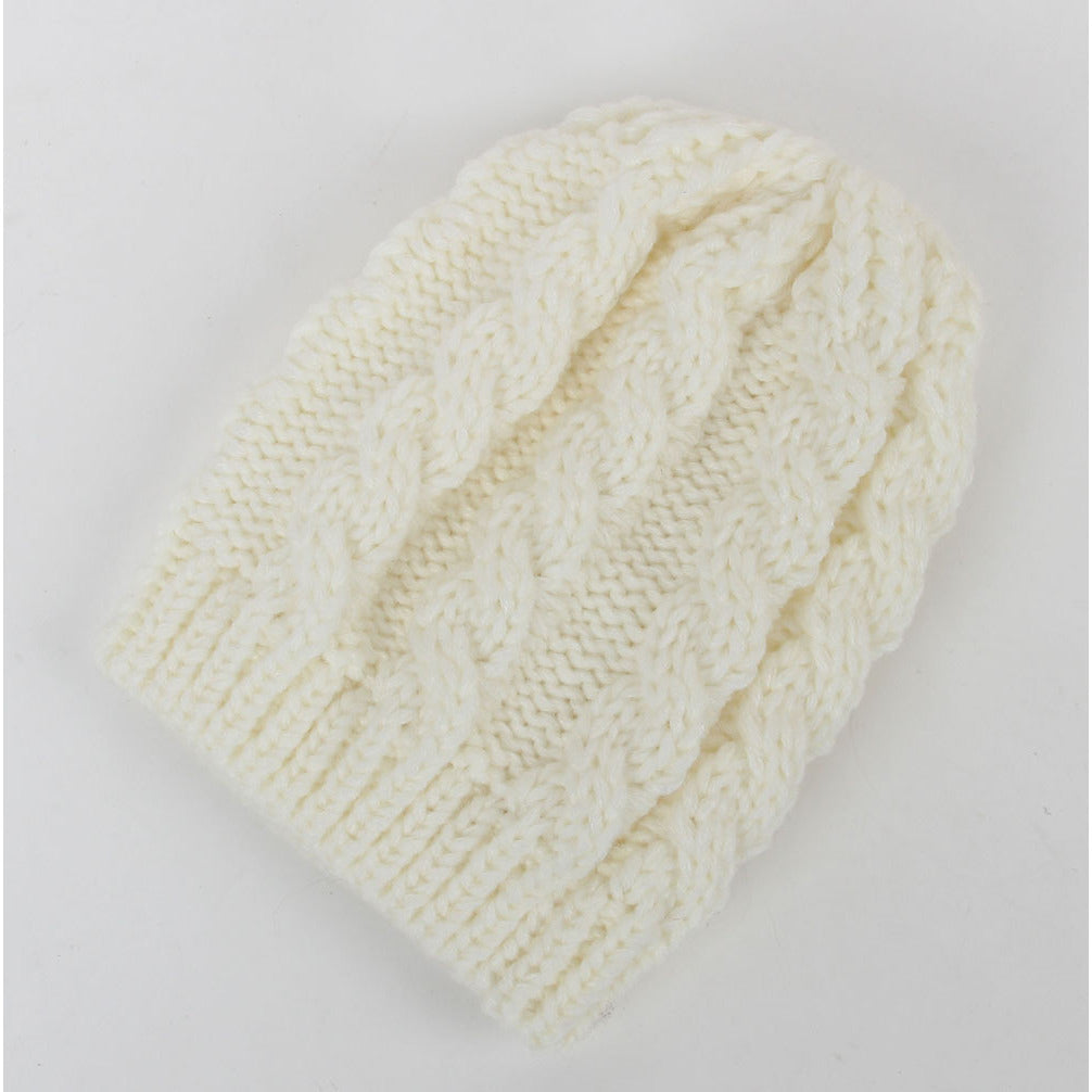 Winter Crochet Hat For Babies 0M-1Y Various Colors Available - MunchkinGear.com