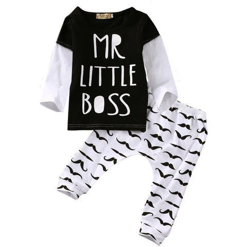 Mr Little Boss Set - MunchkinGear.com