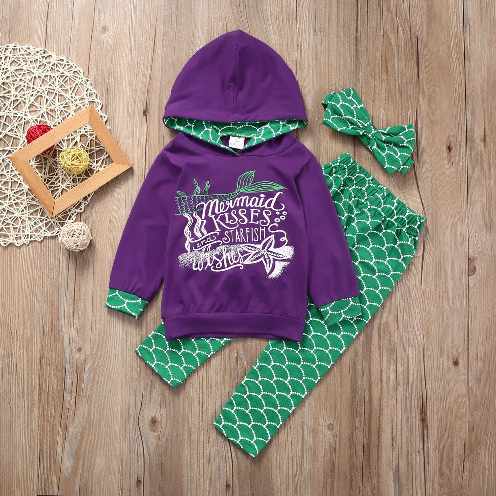 Mermaid Kisses Starfish Wishes Set - MunchkinGear.com