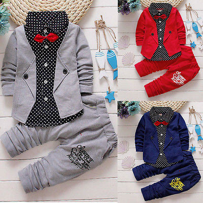 Gentleman Suit 2 PC Set - MunchkinGear.com