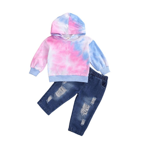 Cotton Candy Tie Dye Set