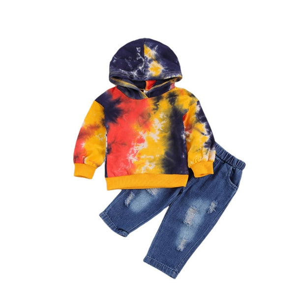 All Fired Up Tie Dye Set