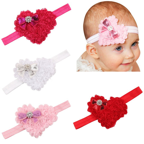 Heart Headbands - MunchkinGear.com