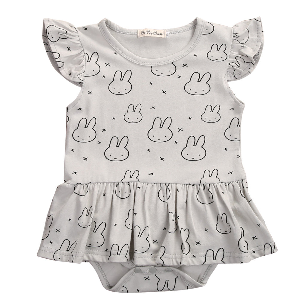 Rabbit Onesie With Tutu - MunchkinGear.com