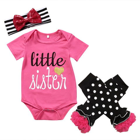Little Sister 3 Piece Set - MunchkinGear.com