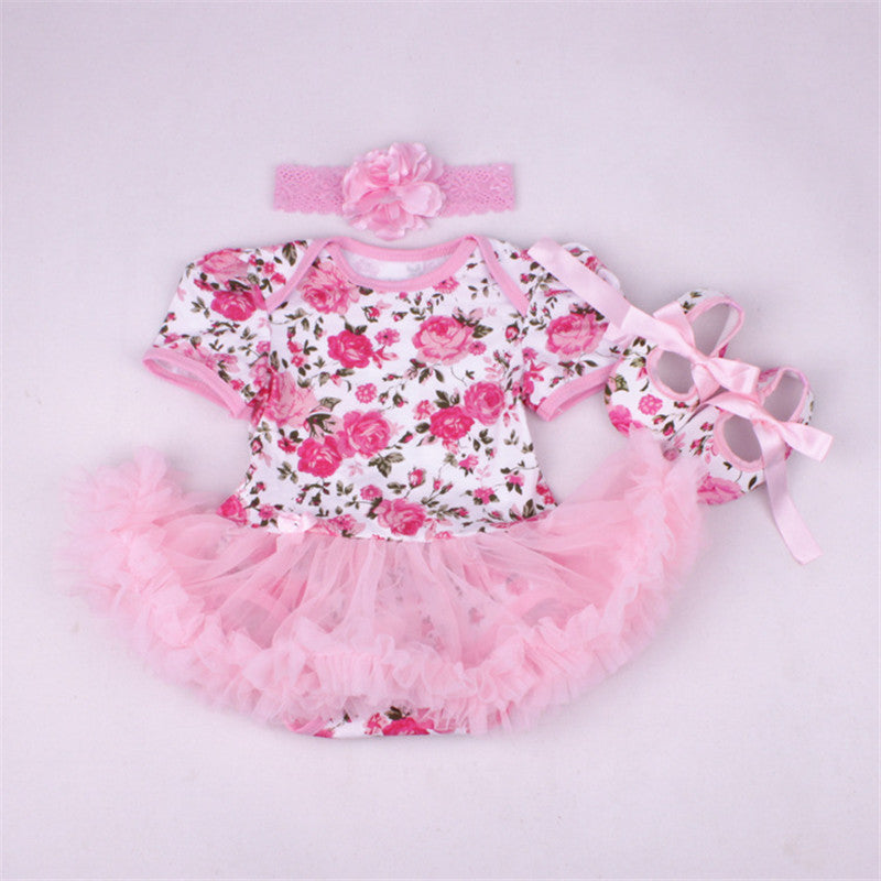 Floral Pattern Light Pink 3 PC Set - MunchkinGear.com