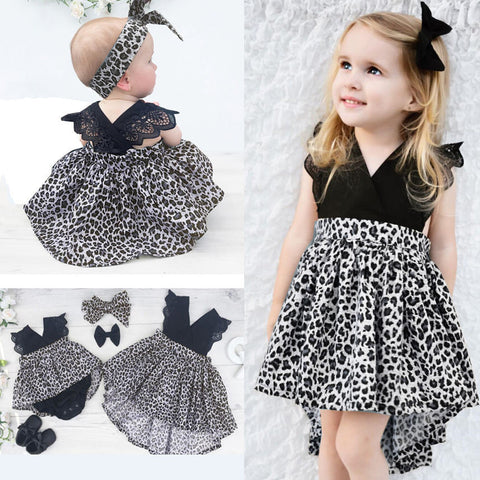 Princess Lace V Neck Dress - MunchkinGear.com