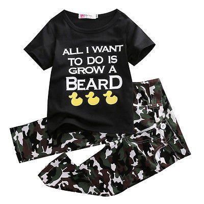 All I Want To Do Is Grow A Beard Set - MunchkinGear.com