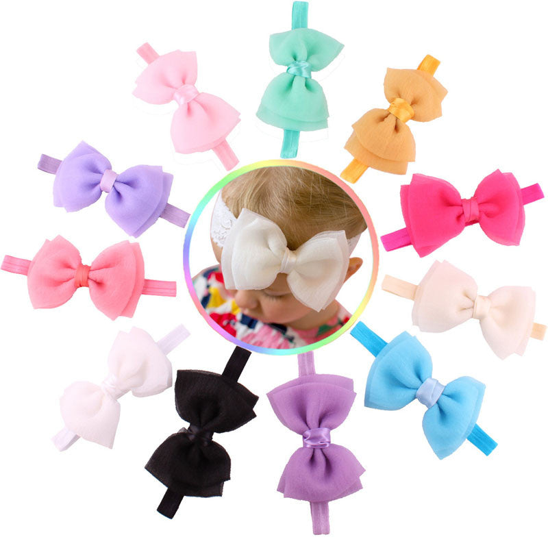 Bow Headbands 11 Piece Set - MunchkinGear.com