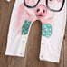 Pig With Glasses Romper - MunchkinGear.com