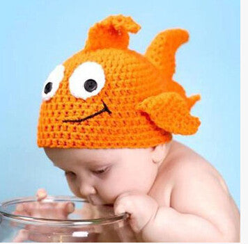 Knitted Fish Photography Prop - MunchkinGear.com