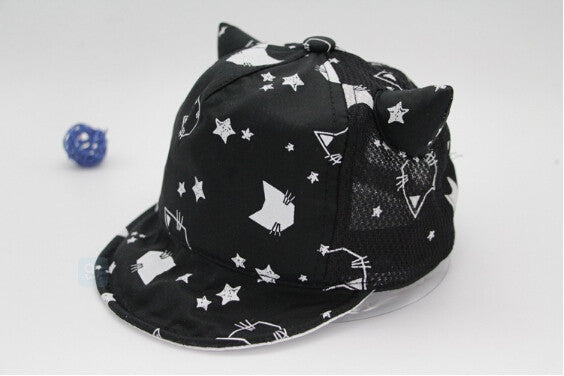 Animal Pattern Sun Cap