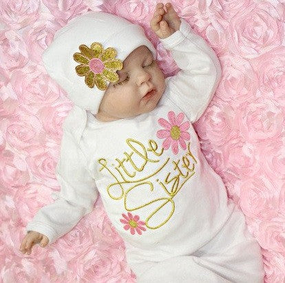 Little Sister Flower 2 PC Set