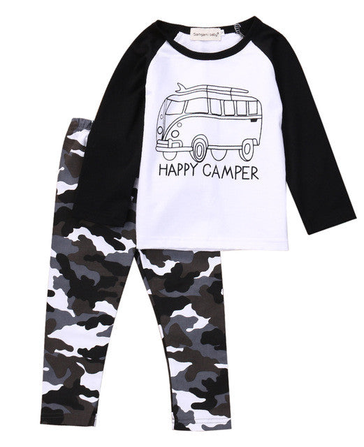 Happy Camper 2 PC Set - MunchkinGear.com