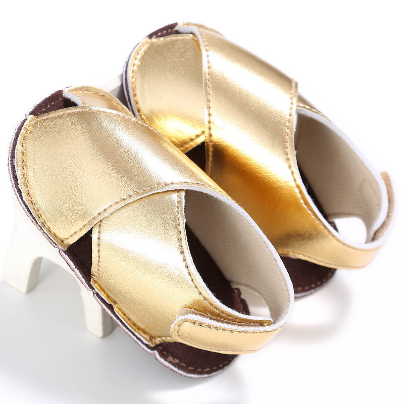 Summer Gold and Silver Sandals - MunchkinGear.com