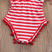 USA Romper and Headband Set - MunchkinGear.com