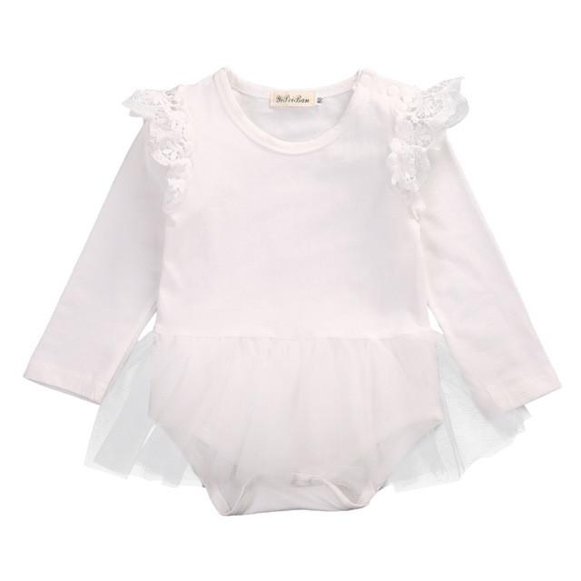 White Tutu Bodysuit