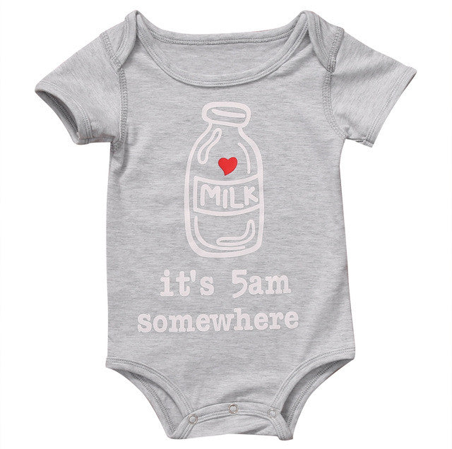 It's 5am Somewhere Onesie - MunchkinGear.com
