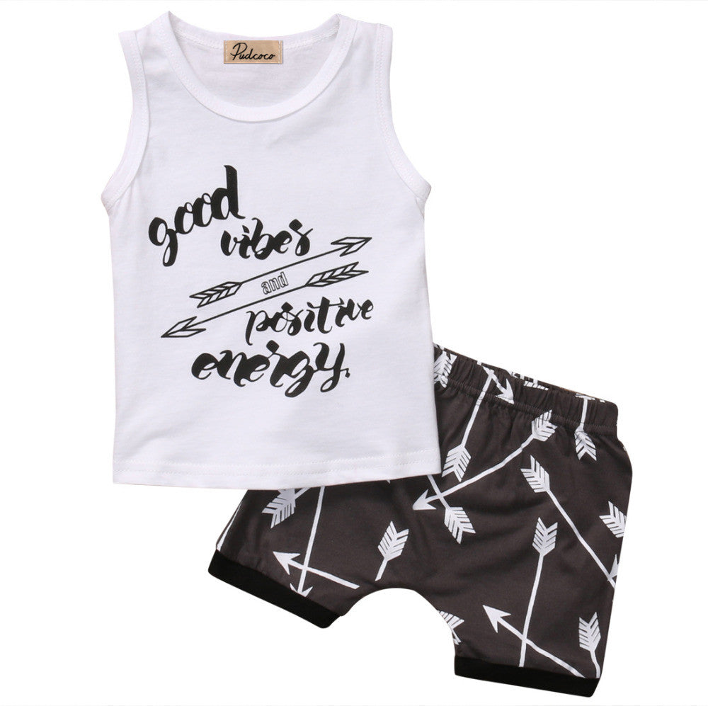 Good Vibes 2 PC Set - MunchkinGear.com
