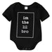 I'm The Little Bro Onesie - MunchkinGear.com