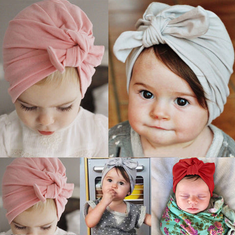 Hat With Bowknot - MunchkinGear.com