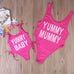 Yummy Mummy and Baby Bathing Suits