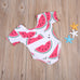 Watermelon Pattern Bathing Suit