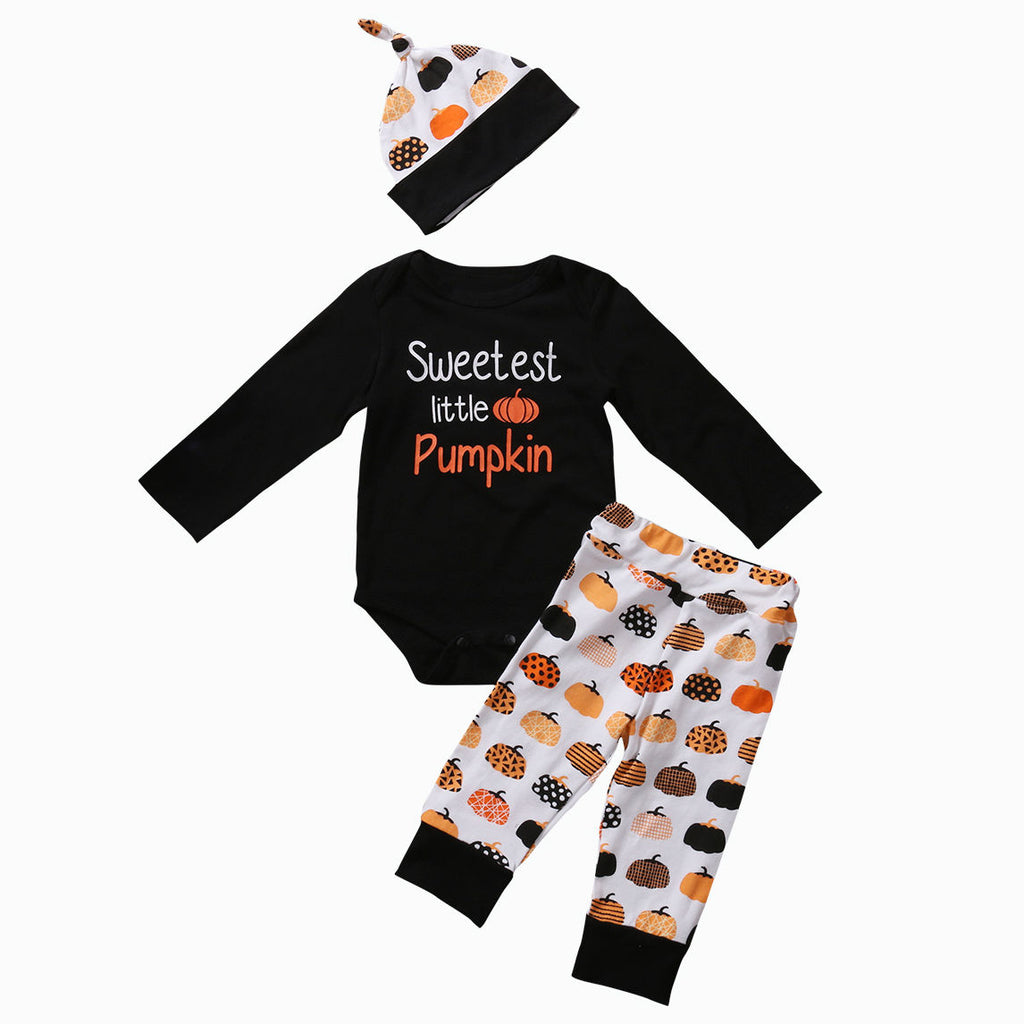 Sweetest Little Pumpkin 3 Pc Set