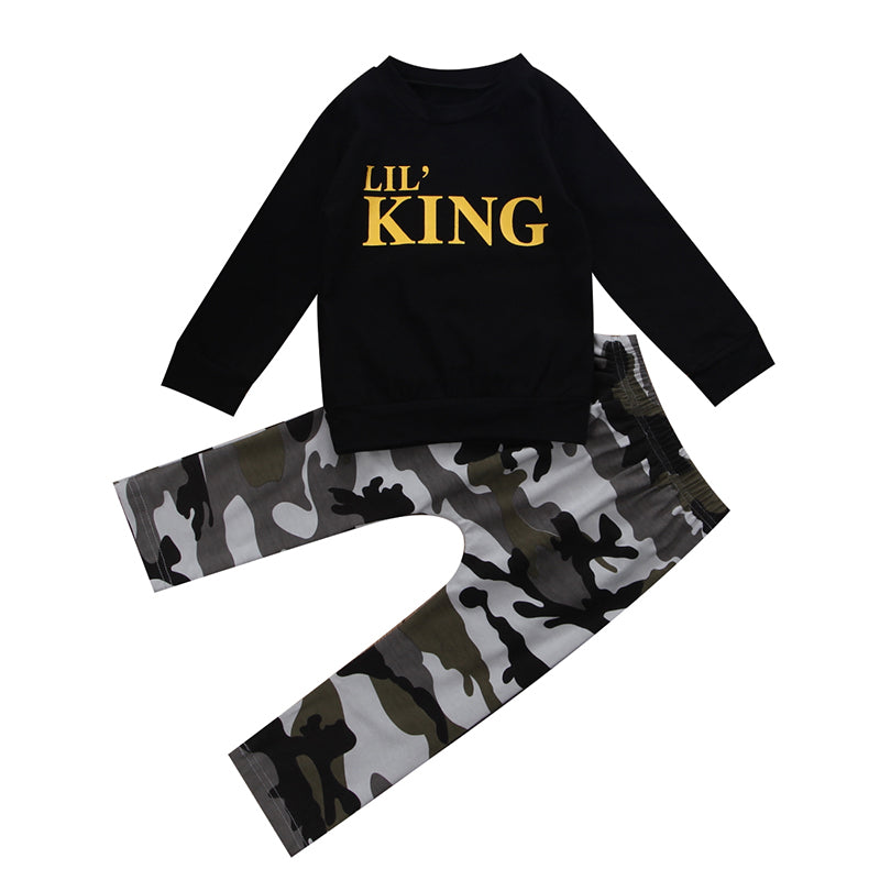 Lil King 2 Piece Set - MunchkinGear.com