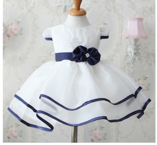 White Formal Dress - MunchkinGear.com