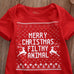 Merry Christmas Filthy Animal Onesie - MunchkinGear.com