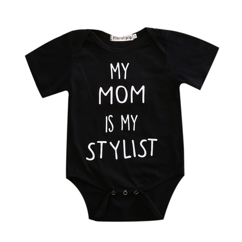 My Mom Is My Stylist Onesie - MunchkinGear.com