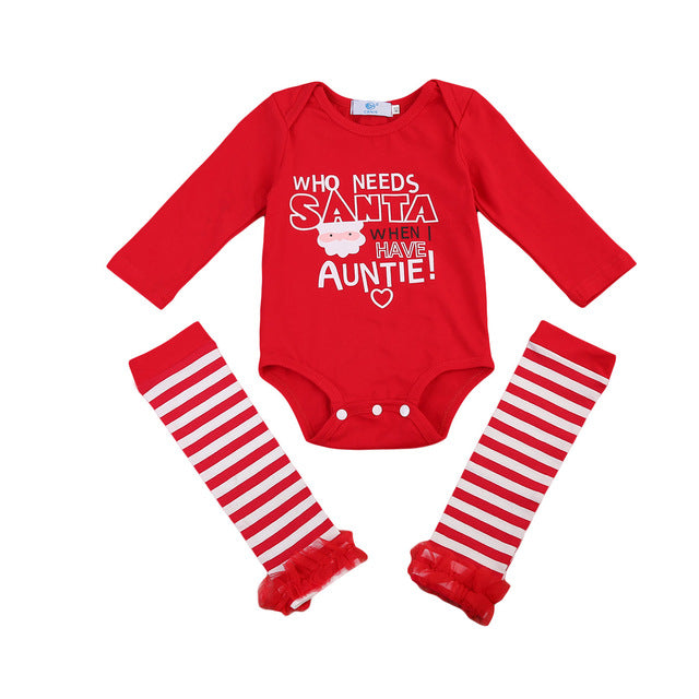 Who Needs Santa When I Have My Auntie Set - MunchkinGear.com