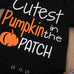 Cutest Pumpkin 3 Pc Set - MunchkinGear.com