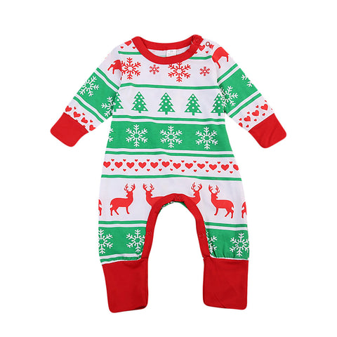 Holiday Pattern Romper