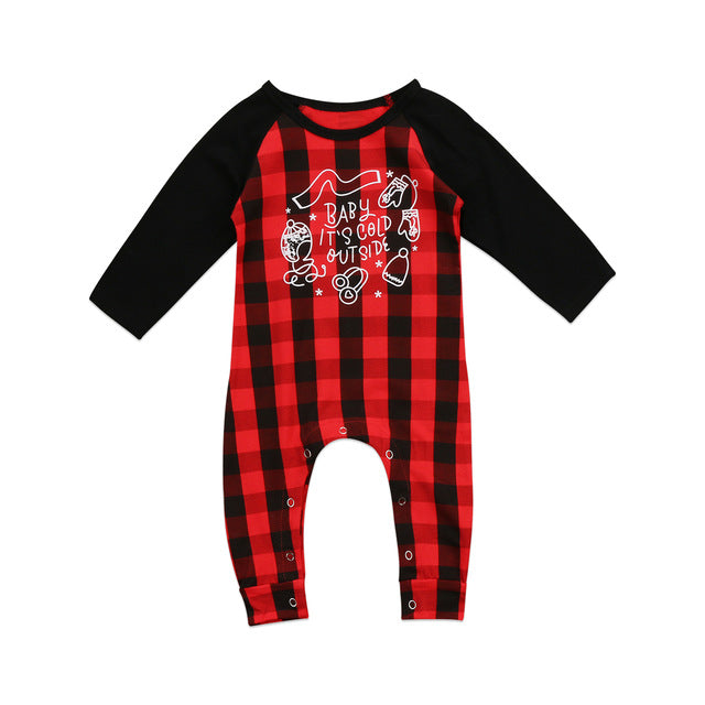 Baby It's Cold Outside Romper - MunchkinGear.com