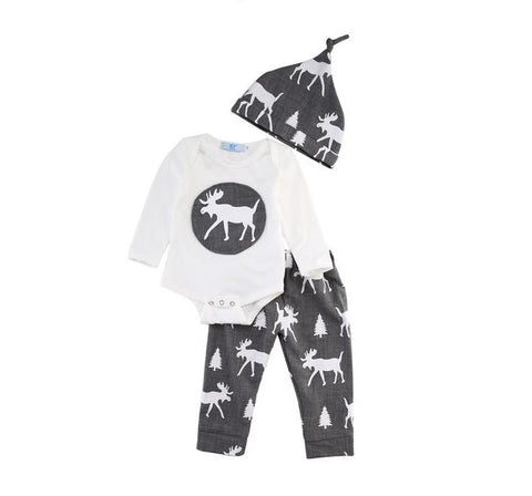 Moose Pattern 3 Pc Set