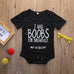 I Had Boobs For Breakfast Onesie - MunchkinGear.com