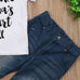 I Make Mama's Heart Full Denim 2 PC Set - MunchkinGear.com