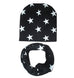 Star Pattern Scarf and Hat Set - MunchkinGear.com