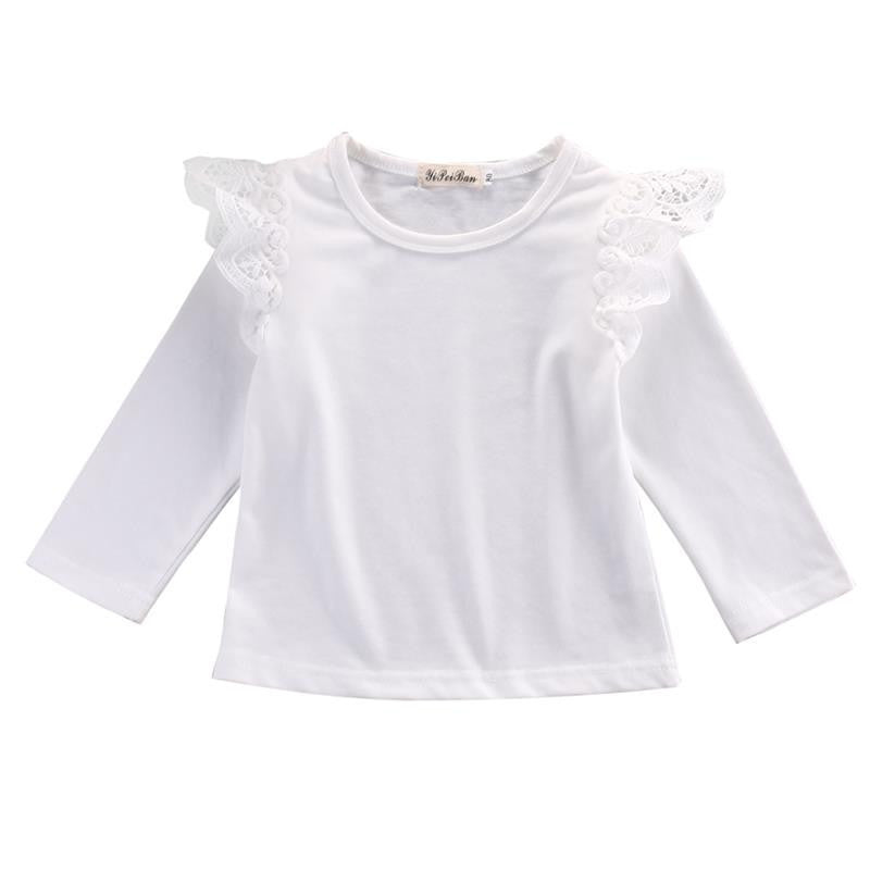 Blouse With Lace On Shoulders - MunchkinGear.com