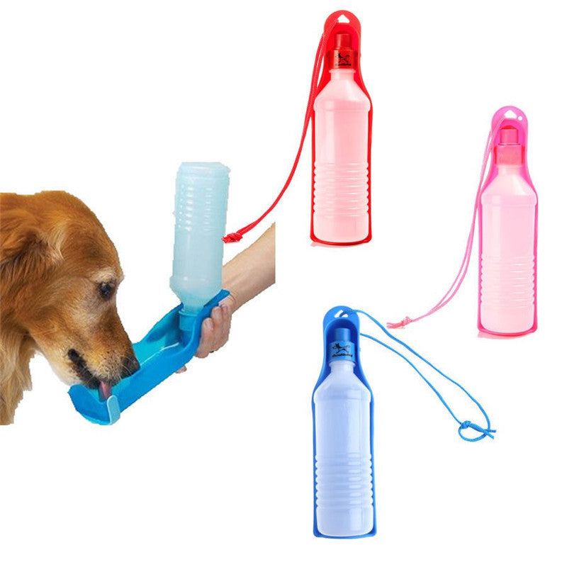 Daily Special Plastic Foldable Pet Travel Water Bottle 500ML - MunchkinGear.com