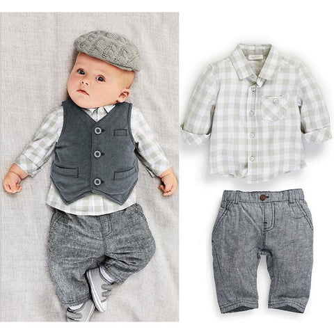 Baby Boy's Party 3 PC Set - MunchkinGear.com