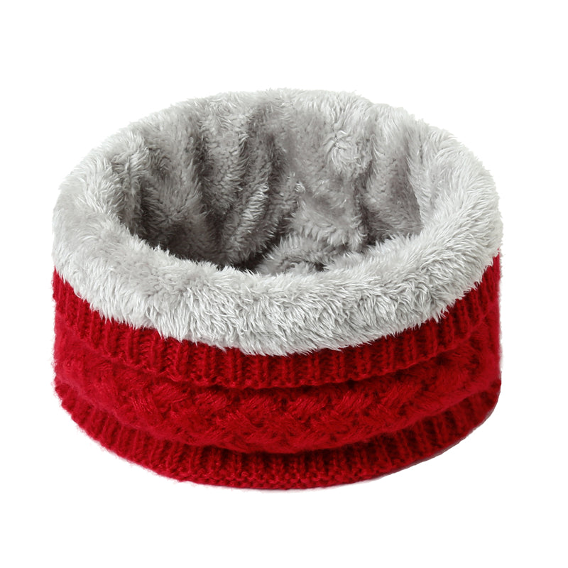 Red Warm Neck Warmer