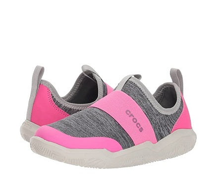 Crocs Running Shoes Pink - MunchkinGear.com