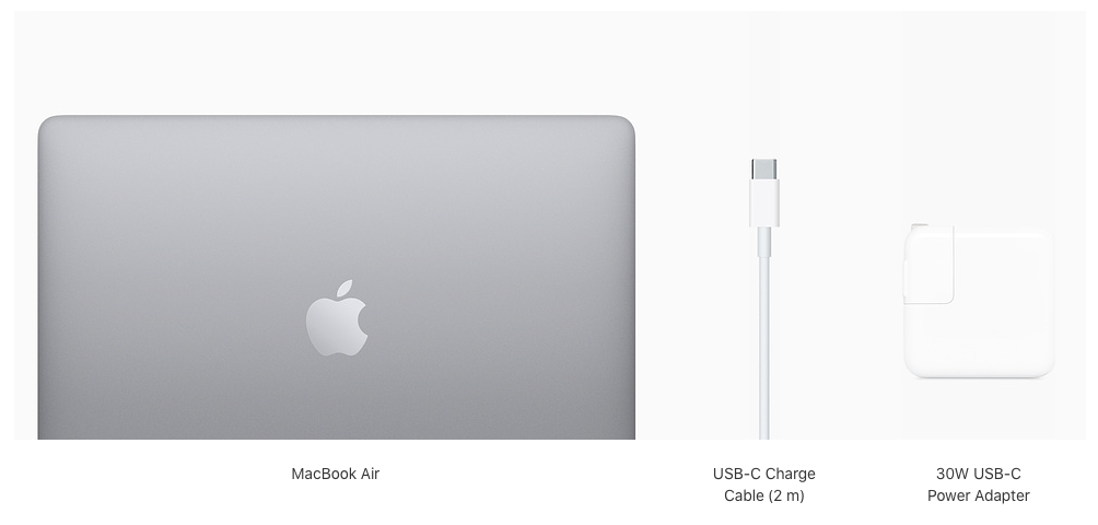 What's in the box with the MacBook Air