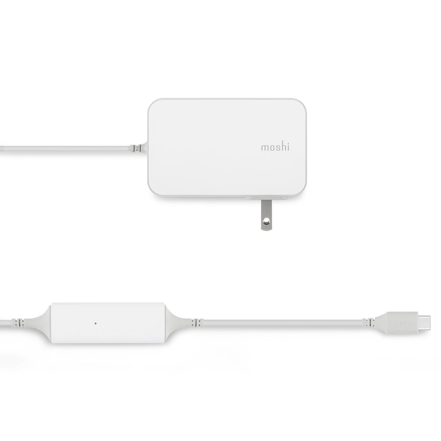 Moshi ProGeo USB-C Laptop Charger (65 W, US) - US Version