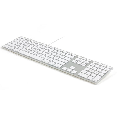 Matias Wired Aluminum Keyboard with Numeric Keypad for Mac