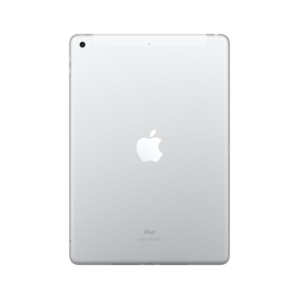 Apple iPad 7th generation - WiFi + Cellular - Silver - Back